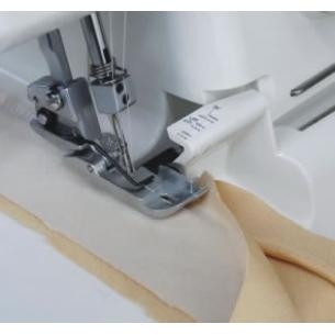Лапка для вшивания канта Ф 5 мм на оверлоке Janome, Family