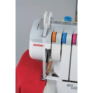 Лапка для вшивания тесьмы с направителем на оверлок Janome, Family
