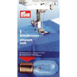 Лампочка 2-х контактная для швейной машины