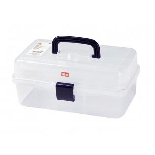 Коробка для аксессуаров прозрачная, с выдвижными ярусами PRYM 612725