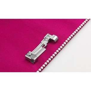 Лапка для пришивания бисера на Pfaff Coverlock