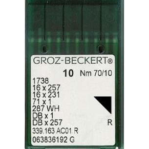 Иглы GROZ-BECKERT универсальные с тонкой колбой